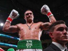 Бывший чемпион мира по боксу Дэвид Хэй — Усику: В супертяжелом весе все может решить один точный и сильный удар