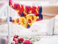 Яркие носки – элемент стиля