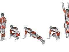 Берпи: как правильно выполнять самое эффективное упражнение для похудения