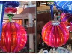 В Дубаи установили самый большой новогодний шар на планете