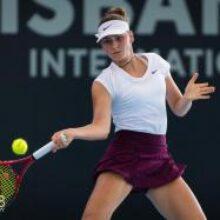Костюк прошла в финал квалификации в Брисбене