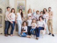 Люди, имеющие большую семью, реже страдают от рака