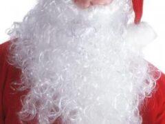 Борода Деда Мороза – незаменимый атрибут полноценного образа