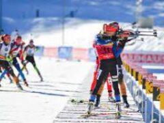 Биатлон: Норвегия выиграла мужскую эстафету, Украина — на шестом месте