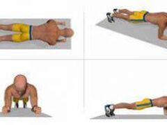 Как делать планку: основные правила выполнения упражнения