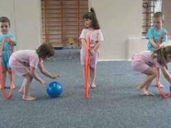 Комплекс гимнастических упражнений с обручем для детей