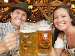 В Мюнхене стартовал фестиваль пива Oktoberfest