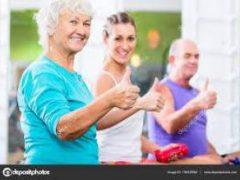 Физические упражнения могут улучшить навыки мышления у пожилых людей