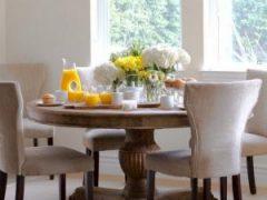 Круглый или прямоугольный стол на кухню? Плюсы и минусы